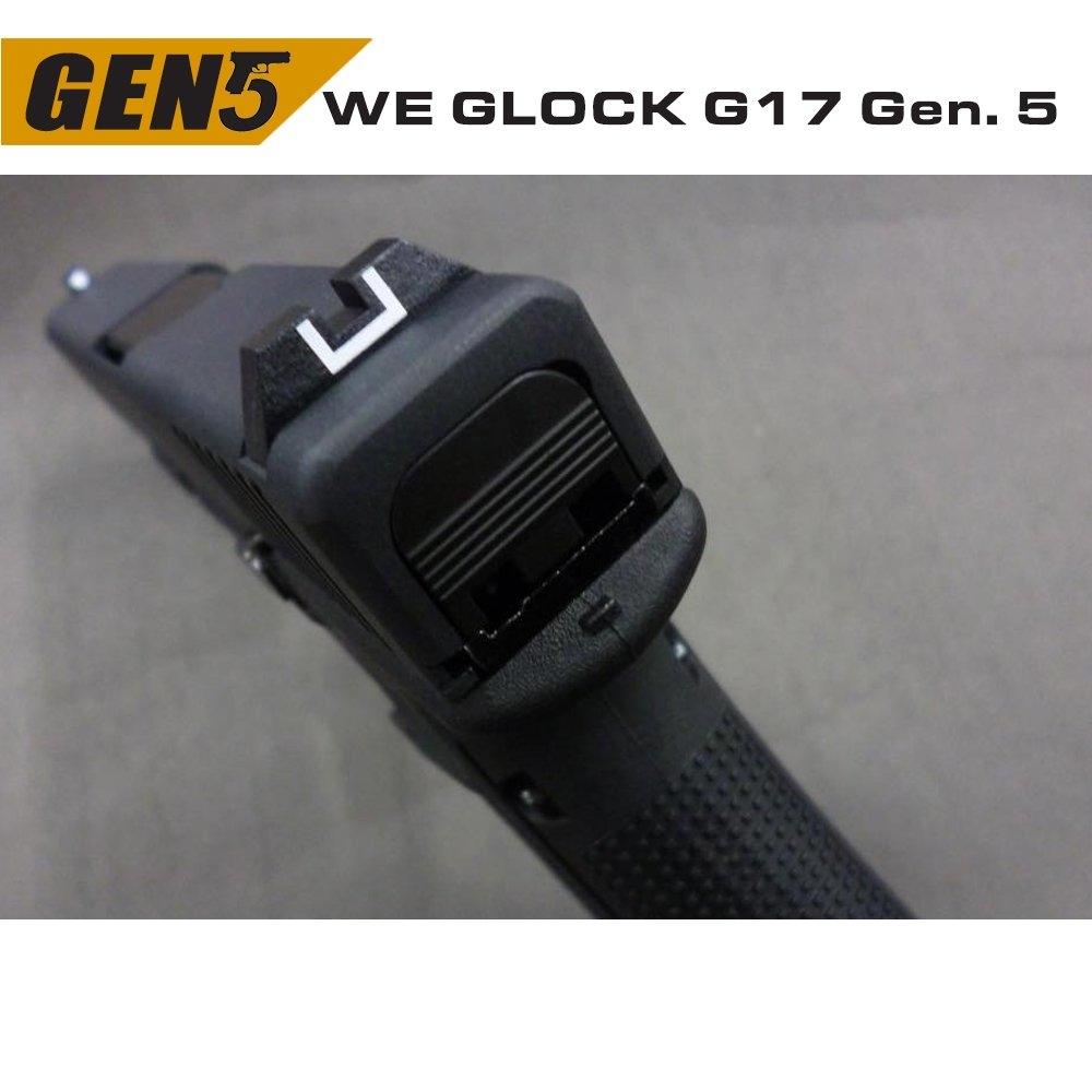 WE GLOCK G17 GEN5 GBB AIRSOFT TABANCA