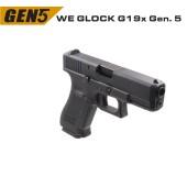 WE GLOCK G19x GEN5 GBB AIRSOFT TABANCA - Thumbnail