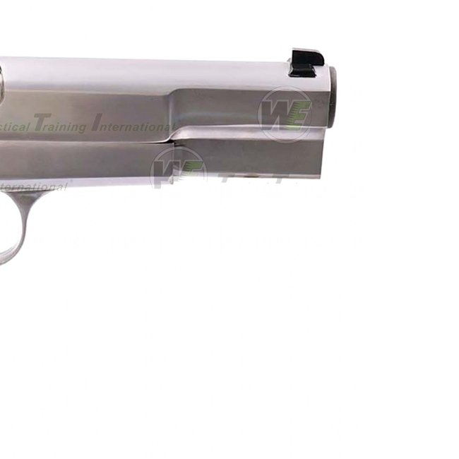 WE HI-POWER BROWNING MK3 GBB AIRSOFT TABANCA - Silver (Gümüş Renk)