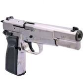 WE HI-POWER BROWNING MK3 GBB AIRSOFT TABANCA - Silver (Gümüş Renk) - Thumbnail