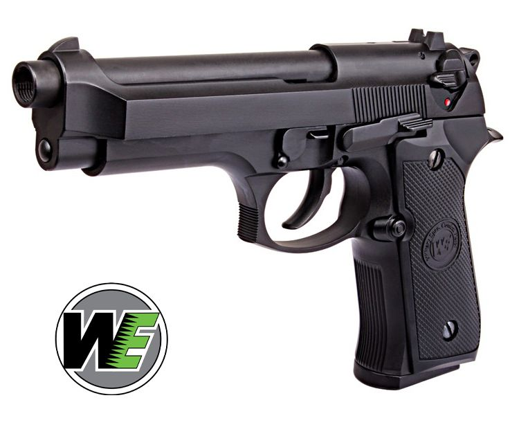 WE M92 Gen 1 BLACK Beretta F92 Airsoft