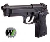 WE M92 Gen 1 BLACK Beretta F92 Airsoft - Thumbnail