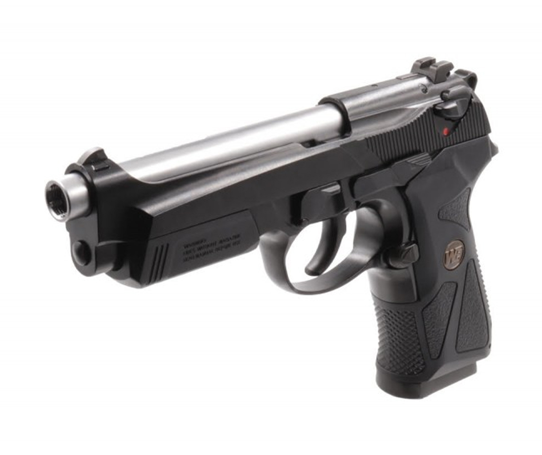 WE M92 WE904 SILVER NAMLU GBB AIRSOFT TABANCA
