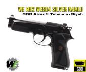 WE M92 WE904 SILVER NAMLU GBB AIRSOFT TABANCA - Thumbnail