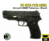 WE MK25 F226 MODEL SIYAH AIRSOFT TABANCA - Thumbnail